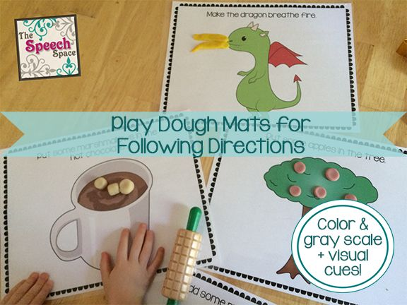 Following Directions Activities For Kids
