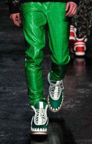 Day-glo: A/W 14/15 young men's catwalk trend flash