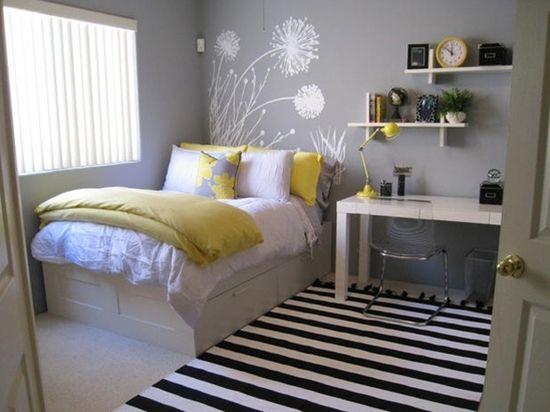 Arredare la camera da letto piccola per ragazza arredo idee - Arredare camera da letto ragazzo ...