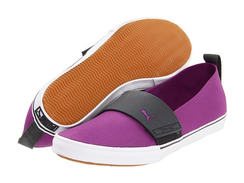 PUMA El Rey Slip-on Nylon Wn's Dewberry/Dark Shadow - 6pm.com