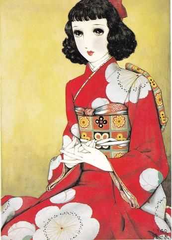 Japanesefashion  Painter Junithi Nakahara  ♡♡♡