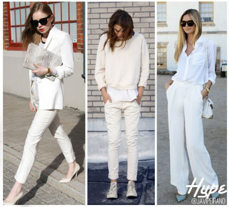 Hype: Total Look Blanco