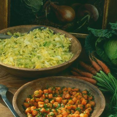 Buttered Cabage. Yummy. So quick and easy to make. Definitely a new regular side dish.