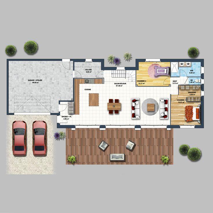 Maison moderne lumineuse 5 chambres Sarzeau en 2020 ...
