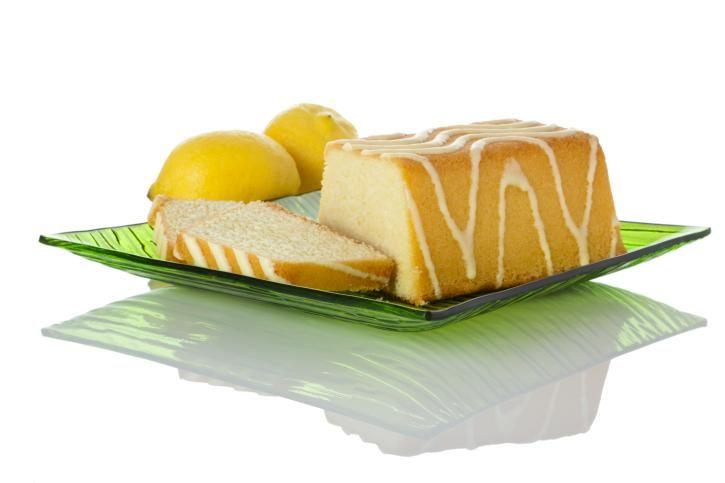 Budín de limón