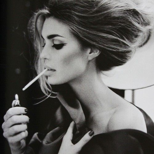Smoking is bad for you...but this photo is gorgeous!