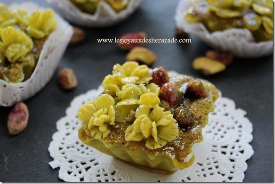 Gâteaux algériens , el foustoukiya - Les Joyaux de Sherazade