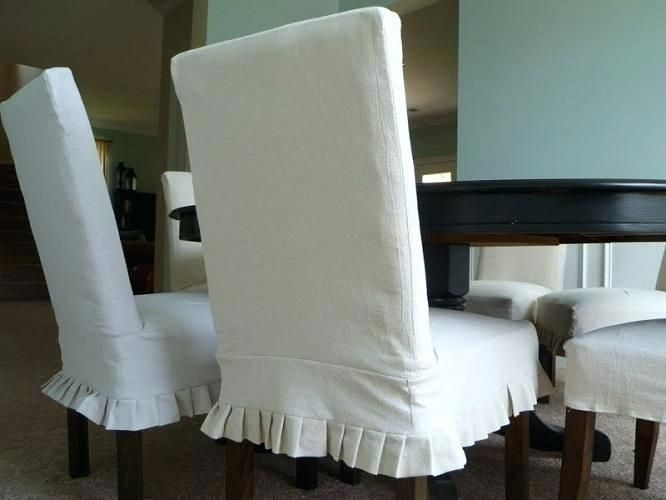 20 Interesting Dining Room Chair Cover Ideas Slipcovers For Chairs Dining Room Chair Covers Dining Room Chair Slipcovers White dining room chair slipcovers