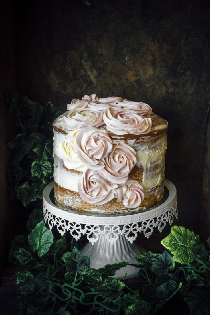 """sweetoothgirl: """" Vanilla And Earl Grey Cake """""""
