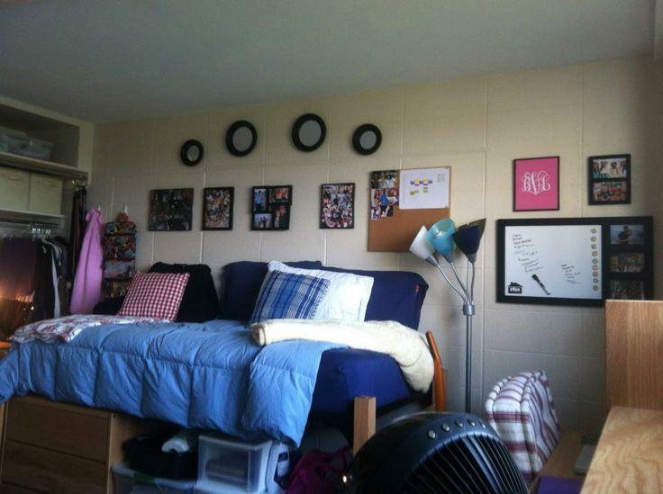 Claflin Double Dorm Room (West Campus)  BU Dorm Ideas  ~ 081707_Dorm Room Ideas Double