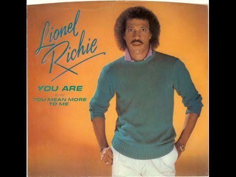"""Pin for Later: 123 Chansons Pour Votre Première Danse """"You Are"""" – Lionel Richie"""
