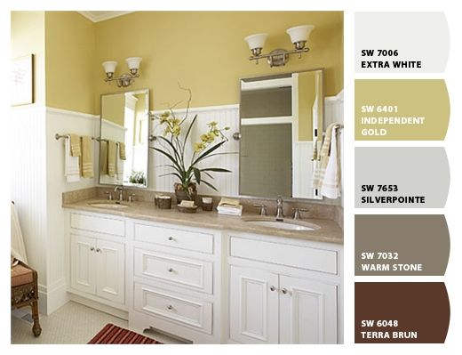Sherwin Williams Independent Gold Home Decor