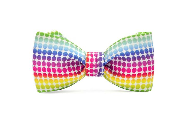 marthu self tie bow tie RAINBOW k0057