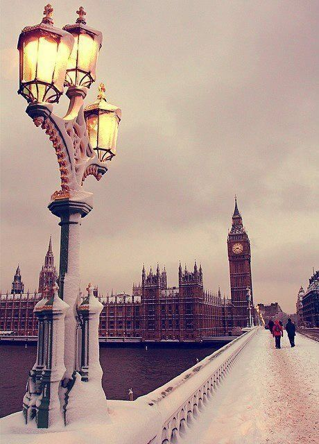 Really wanna go to London. Guess It's a good thing Alison wants to move there.