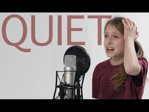 "Lara Wollington (West End's Matilda) performing ""Quiet"": I love this song so much!"