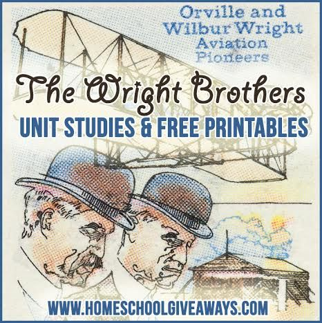 Unit studies are a fun way to learn about interesting historical figures and subjects. Why not study the Wright Brothers? There are lots of printables, and ac