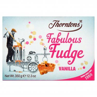 Thorntons Fabulous Fudge Vanilla x 4 Boxes Candy Sweets