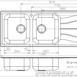 Standard Depth For Kitchen Sink