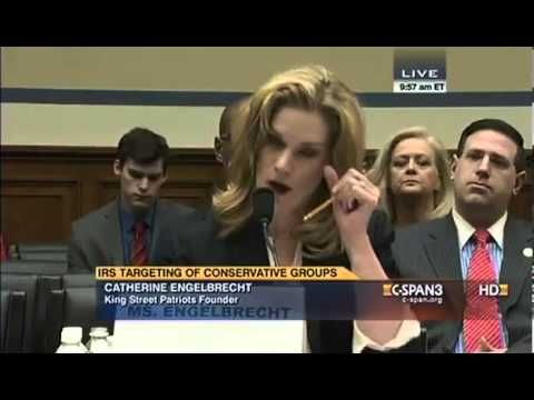 MUST WATCH: This Woman's Congressional Testimony is Going Viral. Mary Engelbrecht business and personal life targeted, harassed and intimidated by federal gov agencies b/c of starting a political non-profit group to ensure voters rights.
