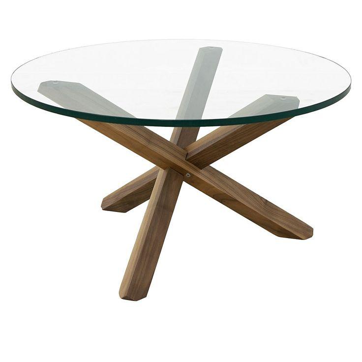 Life Interiors Twix Walnut Coffee Table | Zanui.com.au