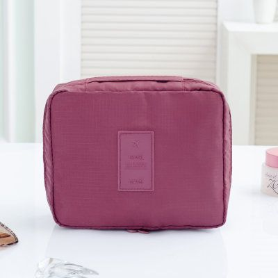 Portable Travel Organizer Storage Bag Cosmetic Makeup Bag Toiletry Wash Case Hanging Pouch