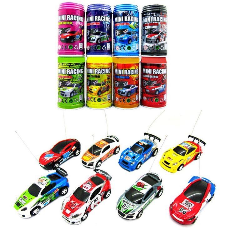 1 63 coke can mini rc radio remote control micro racing car cars for kidsrc