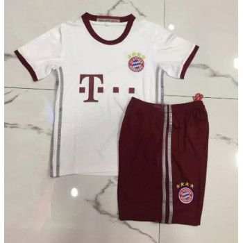 Kinder Fussball Trikot Bayern Munich 2016-17 3rd Trikotsatz Kurzarm