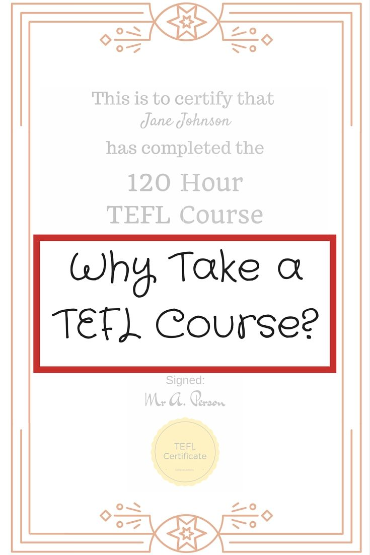 51 best teaching english abroad images on pinterest why take a tefl course 1betcityfo Gallery