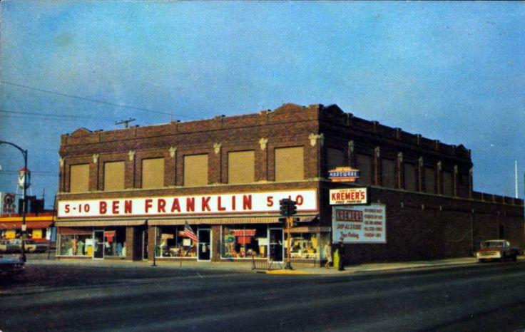 ben+franklin+grand+rapids+mn | Kremer's Ben Franklin Store, Grand Grand Rapids Minnesota, 1960's?