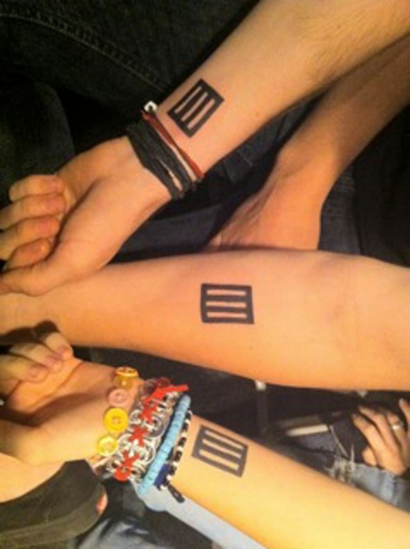 Paramore Tattoos (Jeremy, Taylor Hayley)