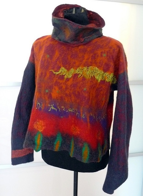 sweater fieltro