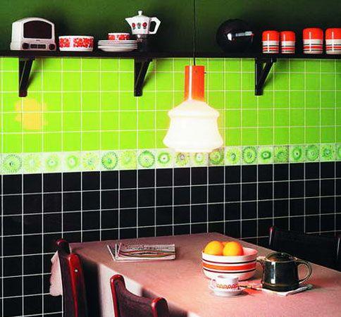 Kitchen Tiles Green best 20+ wall tiles for kitchen ideas on pinterest | kitchen wall