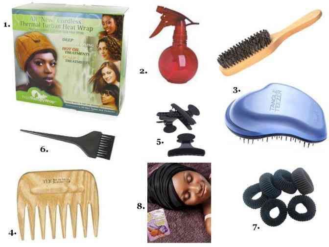 Accessoires pour cheveux crépus \u2013 au salon de laetitia