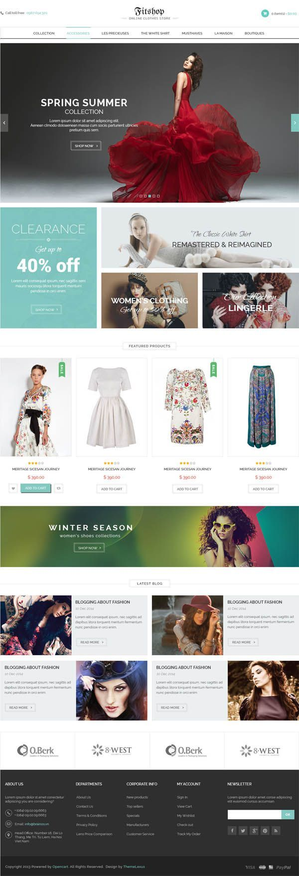 Fitshopo WooCommerce Wordpress Theme by Opal_WP #themeforest #website #webdesign
