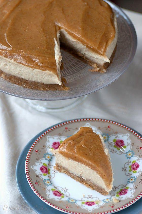 Mimi's Fairy Cakes: Rawrrr! Blondie Cheesecake mit Karamell