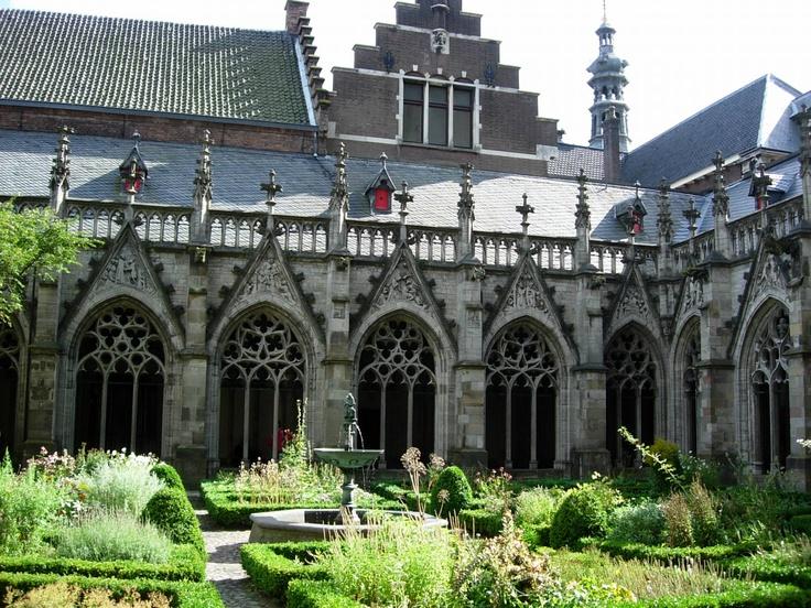 Church yard, Utrecht, Netherlands, August 2004