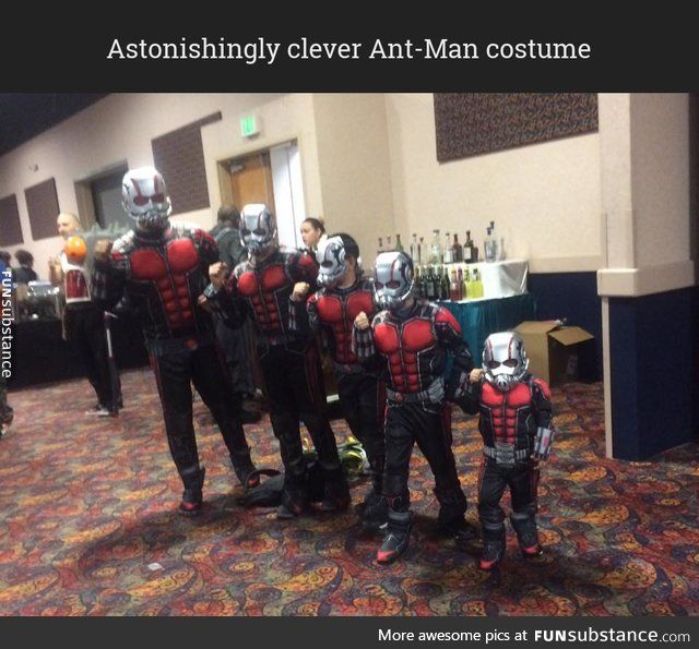 Clever Ant-Man costume - Visit to grab an amazing super hero shirt now on sale!