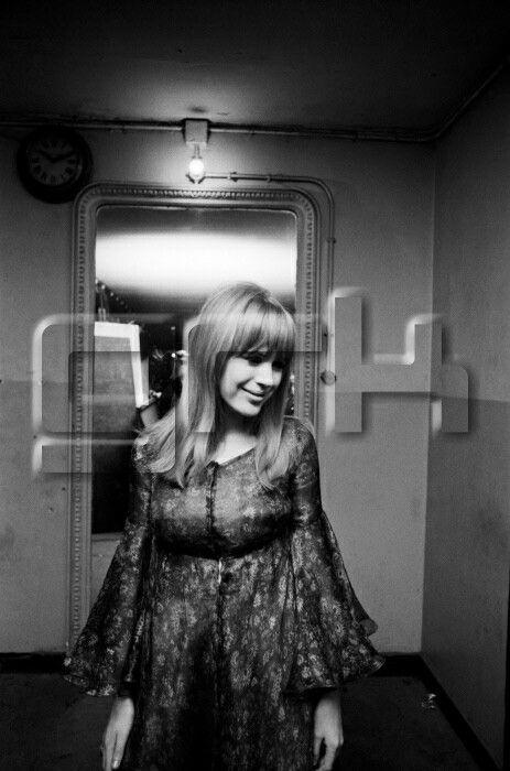 Marianne Faithfull à l'Olympia le 26 mars 1966 à Paris, France