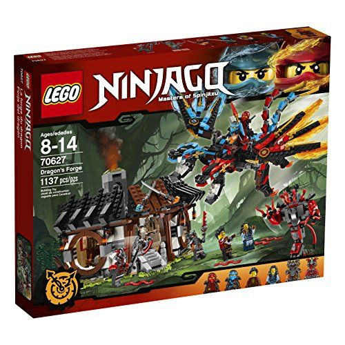 LEGO Ninjago Dragons Forge 70627 Building Kit 1137 Piece -- You can find out more details at the link of the image.