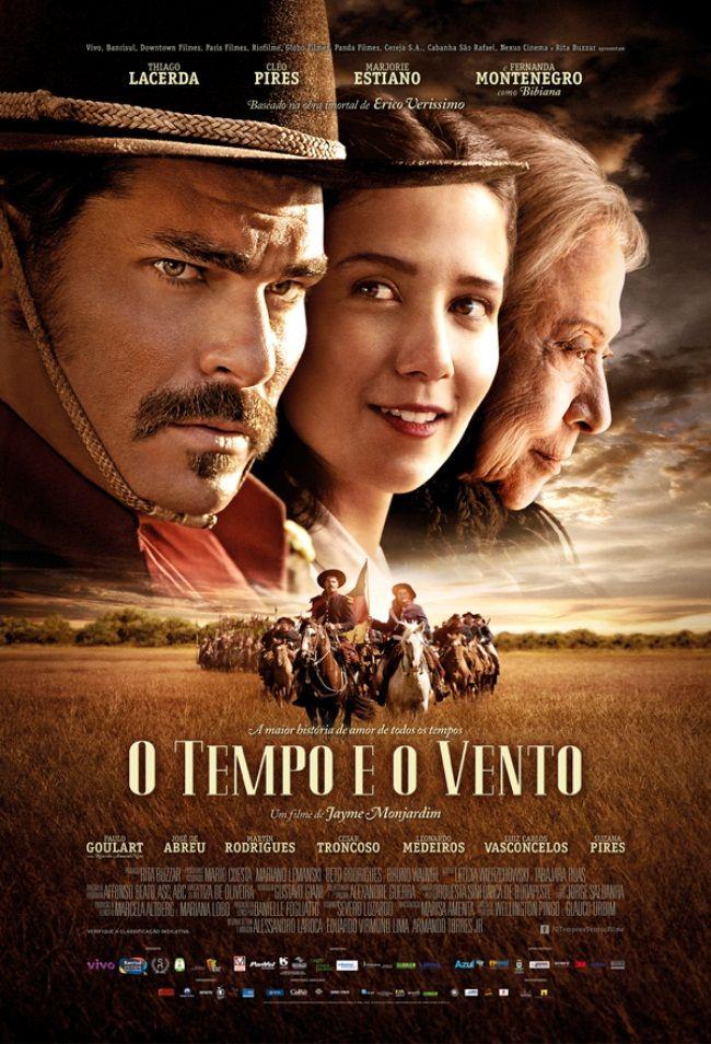 """O Tempo e O Vento - A história se desenvolve a partir da narrativa da personagem """"Bibiana"""" interpretada por Fernanda Montenegro que nos emociona a cada fotograma. O épico de Erico Veríssimo é contado pelo ponto de vista feminino, a paciência infinita das mulheres para superar os desafios, perdas e ausências. #Cine #Films #Movies #BrazilianFilms (Leia Mais) http://entretenimento.r7.com/blogs/andre-di-mauro/artes-e-entretenimento/o-tempo-e-o-vento/"""
