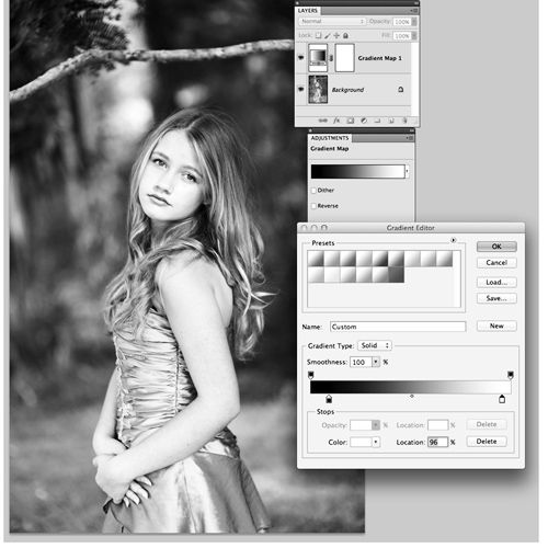 really good way to bw with gradient map...really similar to my process