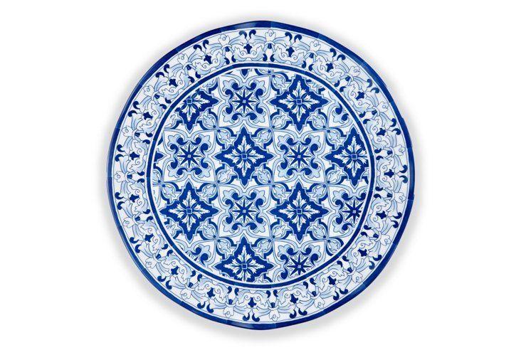 Melamine Talavera Serving Platter