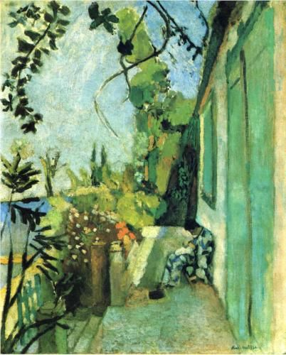 The Terrace, St. Tropez  - Henri Matisse