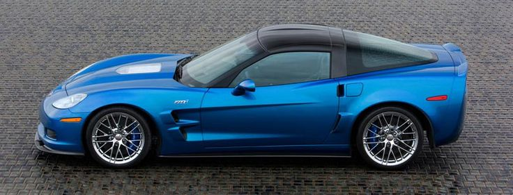 2009 Corvette ZR1 in Jetstream Blue Metallic GM settled on ZR1 as the moniker for the new super Corvette. Propelling the Corvette well into Supercar territory, the engine explored a new concept for Corvette: forced induction. A roots style Eaton supercharger, developed specifically for the Corvette, power rating of the ZR1's supercharged LS9 V-8 engine 638 horsepower and 604 lb.-ft. of torque. This calculates out to 1.69 horsepower / cubic inch of displacement, a very impressive number