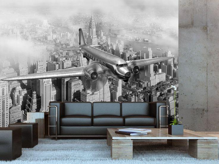 Vintage New York foto mural