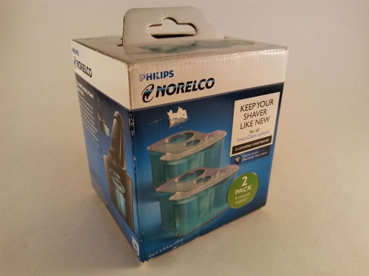 Norelco JC302 Philips Men's Razor Shaver Cleaning Cartridge 2 Pack FREE SHIPPING #Norelco