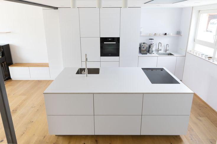 Weiße Küche | Designerküche | Loftküche | Loft…
