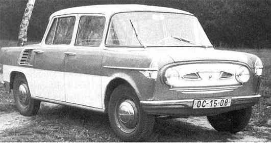 Skoda 989 Prototype