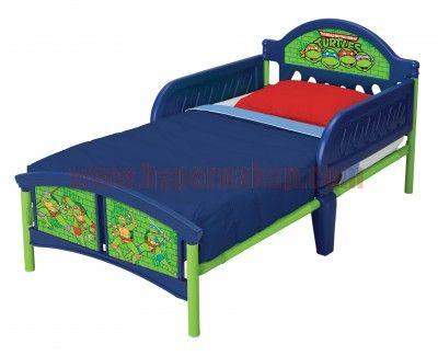 Detská posteľ Disney Ninja korytnačky 140x70