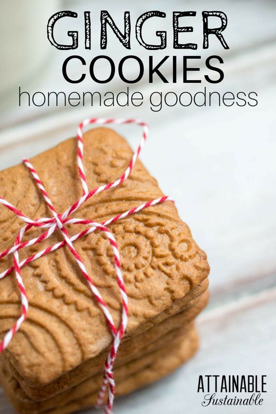how to make ginger cookies with fresh ginger
